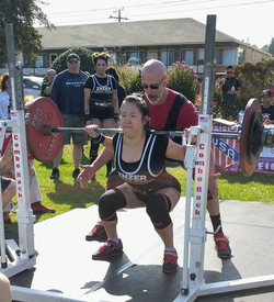Women Open Squats