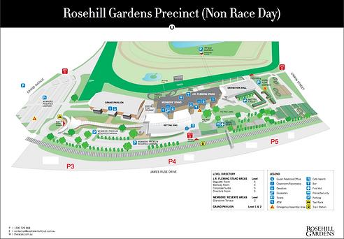 rosehill gardens precinct