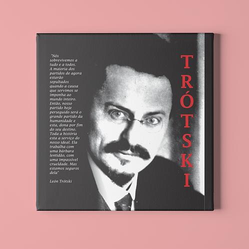 Azulejo 1  -  Linha Trotski frases