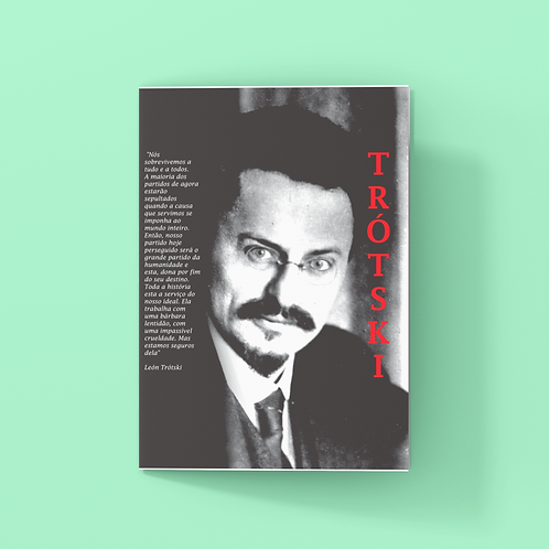 Marcador De Páginas -  Linha Trotski frases
