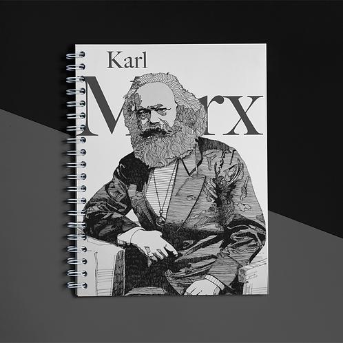 Caderno 13x21 - Linha Marx