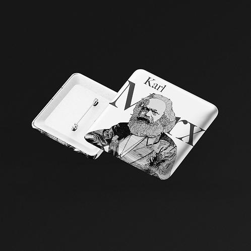 Bóton Quadrado -  Linha Marx
