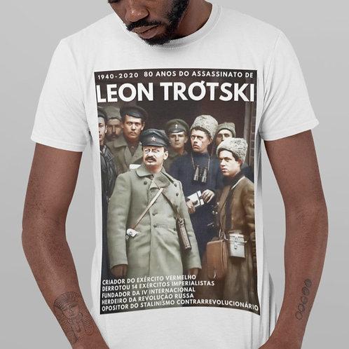 Camiseta - Linha 80 anos do assassinato de Trótski