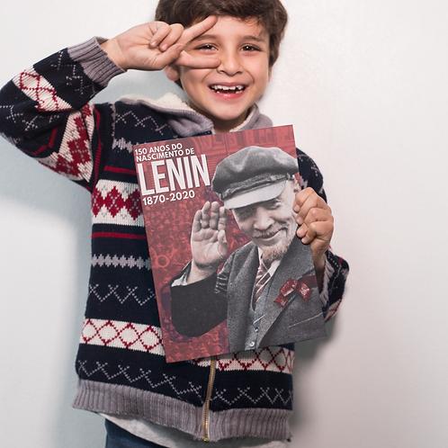 Poster A3 - Lenin 150 anos