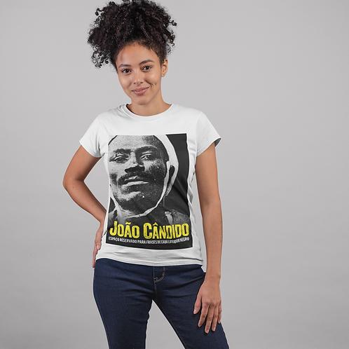 Camiseta - João Cândido Preto e Branco