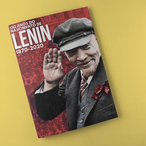 Poster A4 -  Lenin 150 anos