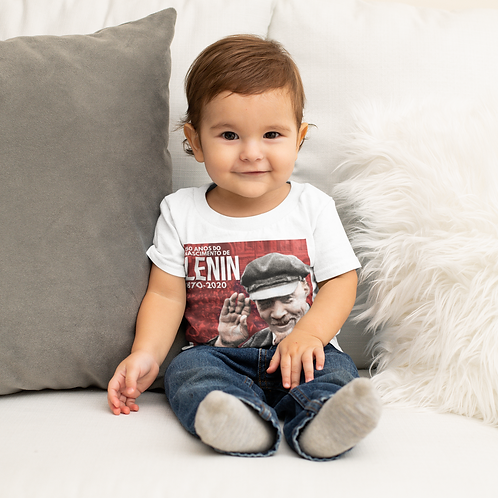 Camiseta De Bebê -  Lenin 150 anos