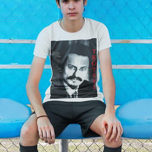 Camiseta Drifit -  Linha Trotski frases