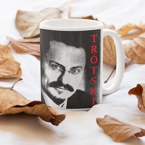 Caneca De Porcelana - linha Trotski frase