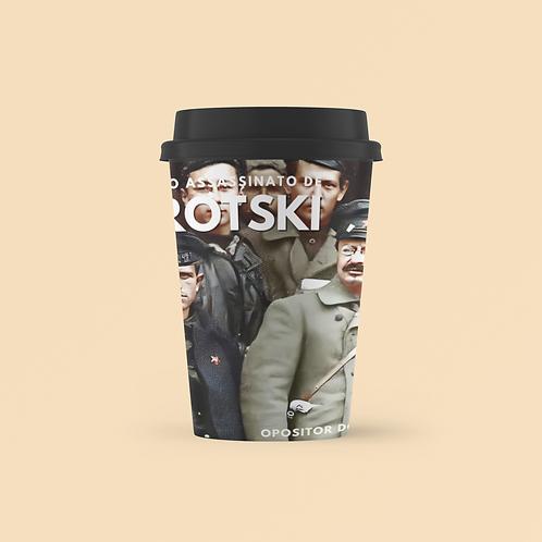 Copo starbucks - Linha 80 anos do assassinato de Trótski
