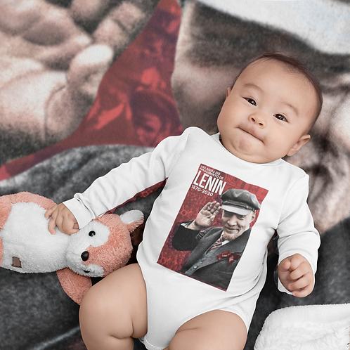 Body Comprido Bebê -  Lenin 150 anos