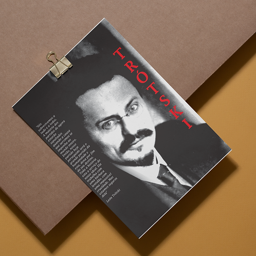 Adesivo -  Linha Trotski frases