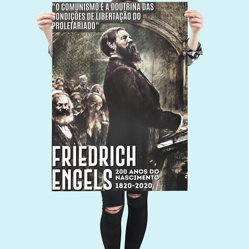 Poster A1 -  Linha 200 anos Engels