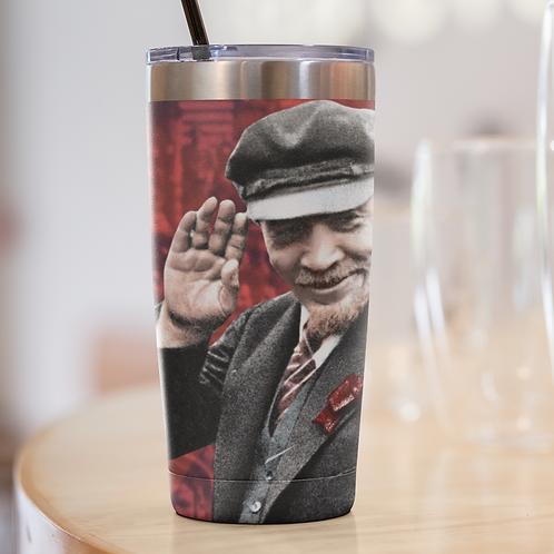 Squeeze Copo Tampa Plastico -  Lenin 150 anos