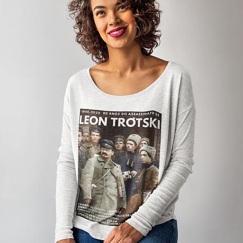 Camiseta de Manga comprida - Linha 80 anos do assassinato de Trótski