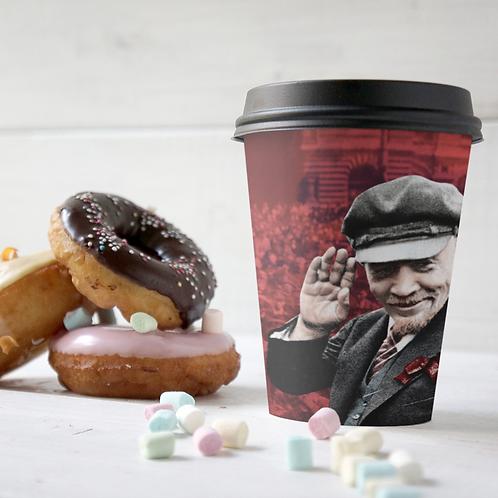 Copo De Café Starbucks 250ml -  Lenin 150 anos