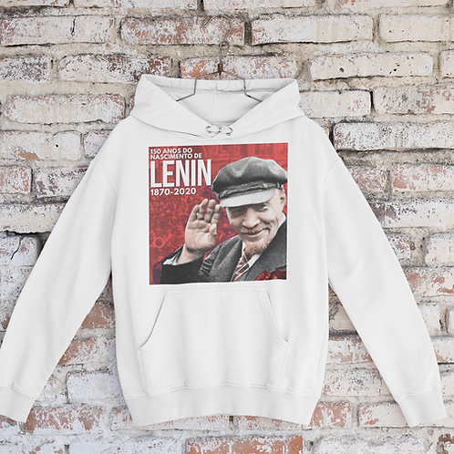 Moletom Com Capuz -  Lenin 150 anos