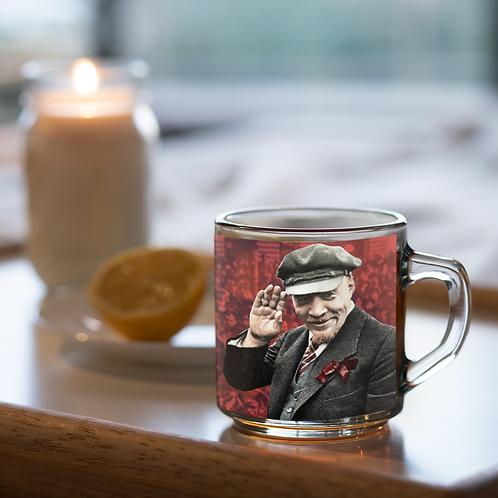 Caneca De Vidro -  Lenin 150 anos