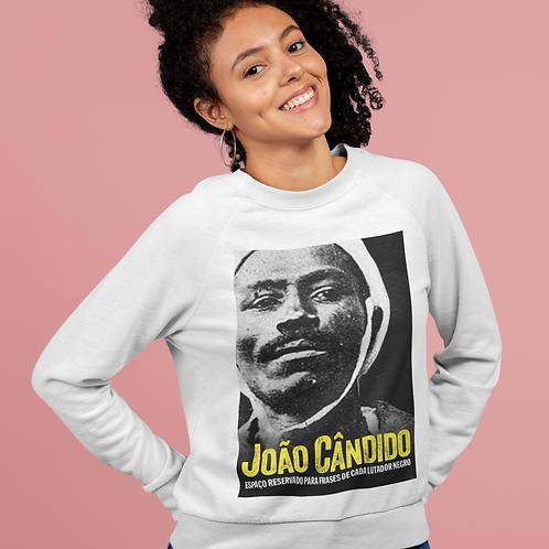 Blusa de manga comprida - João Cândido Preto e Branco