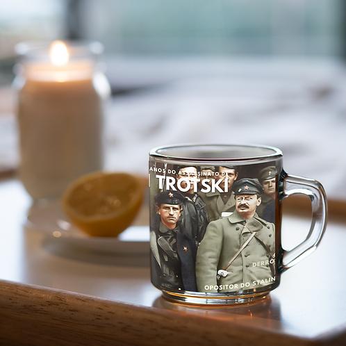 Caneca de vidro - Linha 80 anos do assassinato de Trótski