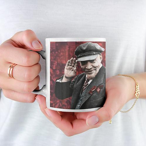 Caneca De Porcelana  Lenin 150 anos