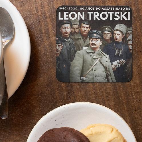 Aparador de Copo Quadrado - Linha 80 anos do assassinato de Trótski