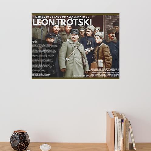 Quadro Horizontal - Linha 80 anos do assassinato de Trótski