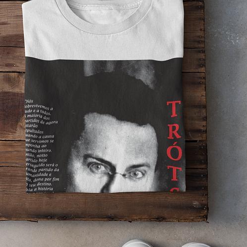 Camiseta - Linha Trotski frase