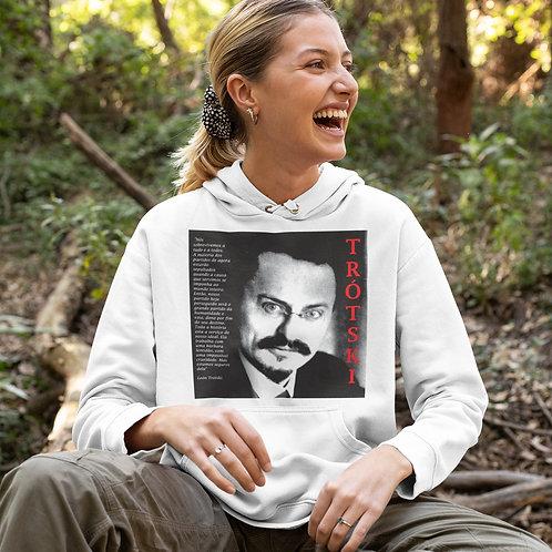 Moletom Com Capuz - Linha Trotski frase