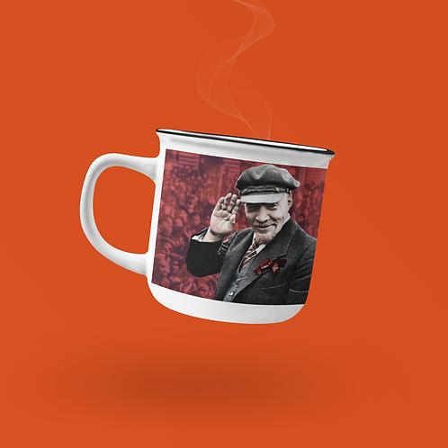Caneca Esmaltada -  Lenin 150 anos