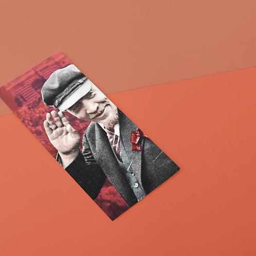 Marcador De Páginas -  Lenin 150 anos
