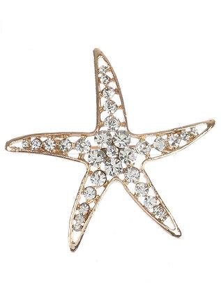 Blingy Starfish Broach