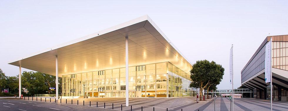 Gebäude der Messe Essen und Veranstaltungsort der Cable Car World