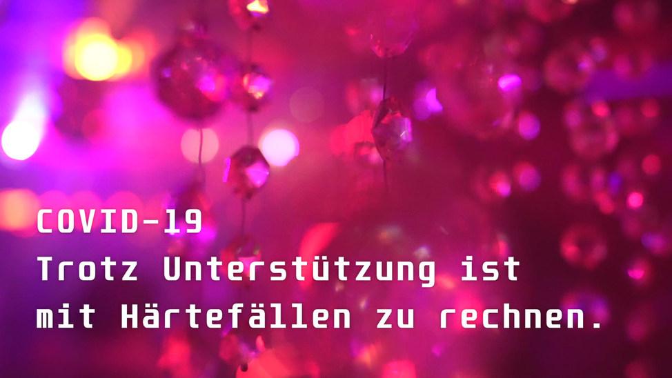 Fundraising Aktion der Bar & Clubkommission Zürich zur Stärkung des Zürcher Nachtlebens