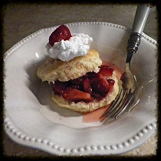 Southern Strawberry shortcake