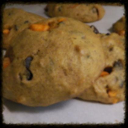 Pumpkin Spice Walnut Cookies