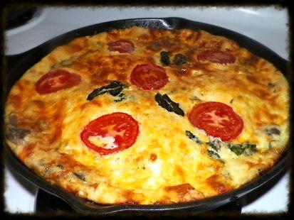 Savory Breakfast Frittata