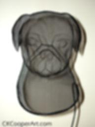 Pug by CKCooper