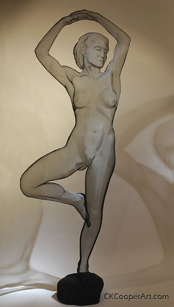 Life Sized nude by CKCooper and Randy Cooper