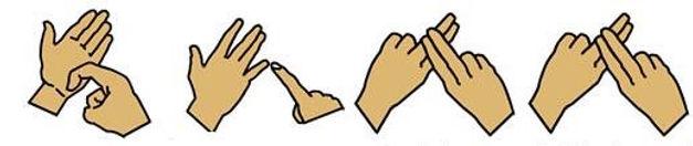 Sign Language BSL Finger Spelling Ruff