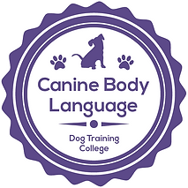 Dog Training Canine Body Language Badge