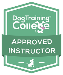 Dog Trainer Approved Instructor Badge