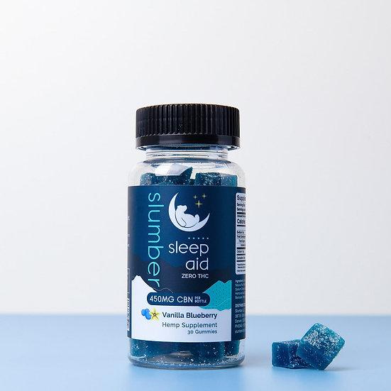 Slumber Sleep Aid CBN Gummies (450MG)