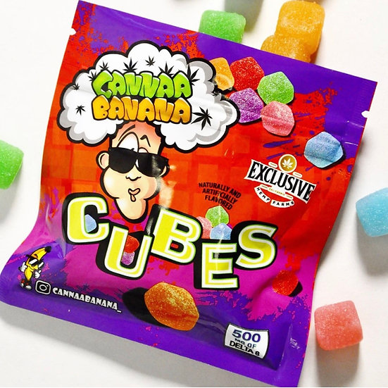 Cannabanana Cubes (500MG)