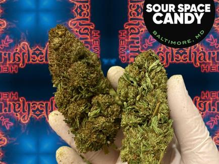 Sour Space Candy Premium Hemp Flower