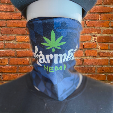 Face mask face shield bandana
