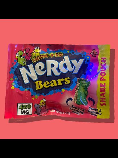 NERDY Bears (420MG)