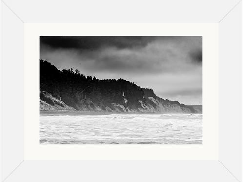 Motunau Beach Framed  Print 23x16 (A2)
