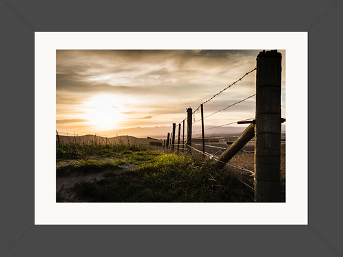 Waipara at Dusk Framed Print 23x16 (A2)