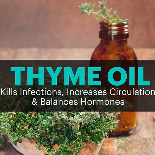 Thyme Essential Oil 10ml.